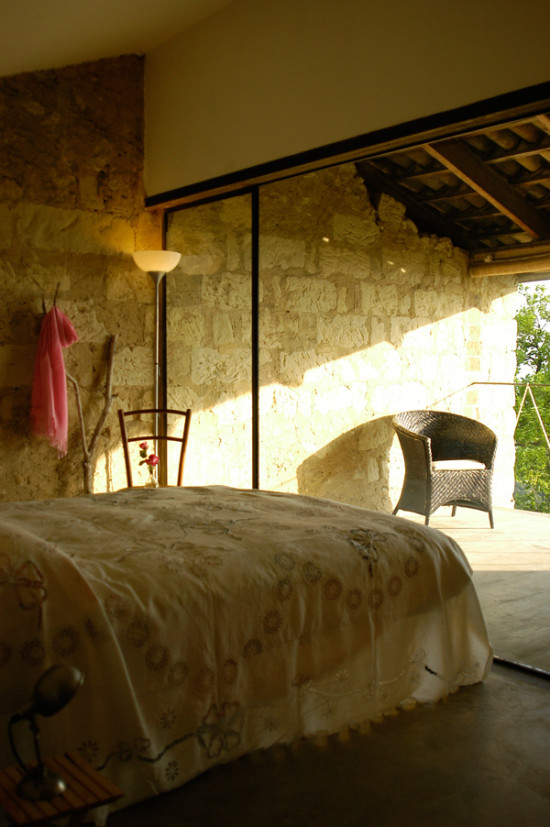 Rose bianche suite room glass - Cascina rosa b&b, bed and breakfast in Monferrato