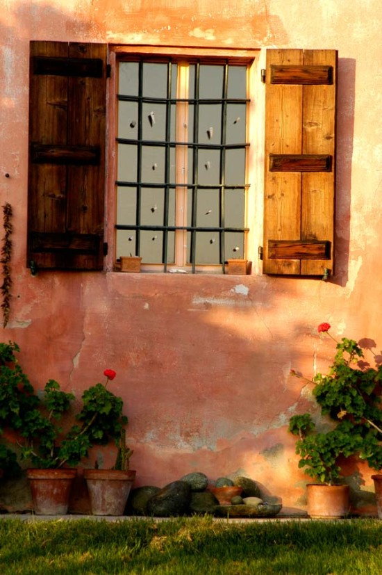 Window detail - Cascina rosa b&b, bed and breakfast in Monferrato