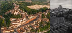 Grazzano Badoglio e il colle della Madonna dei Monti