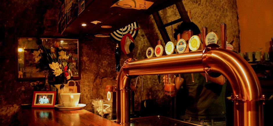 Degustazione birre artigianali alla spina per gli ospiti di Cascina rosa b&b